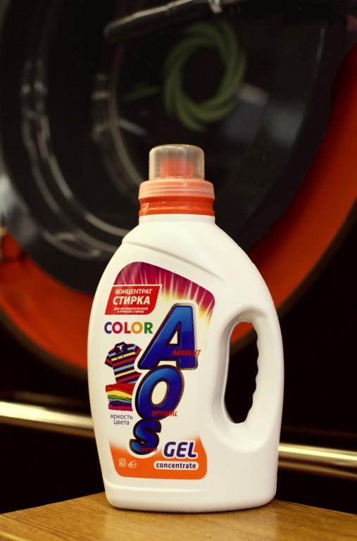 аос гель для стирки цветных вещей