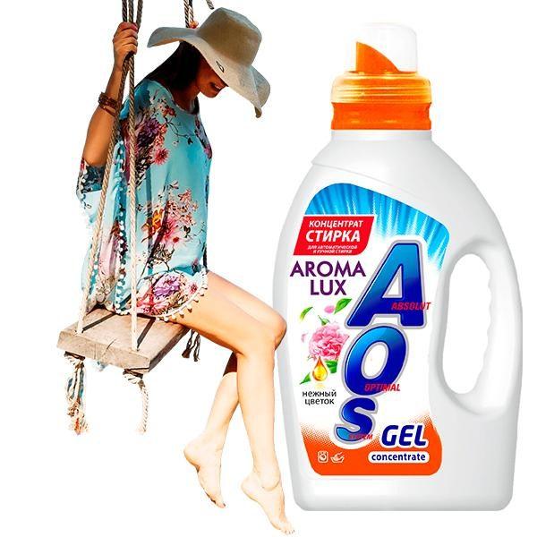 aos aroma girl 600x600 - AOS Gel Aroma Lux «Нежный цветок»