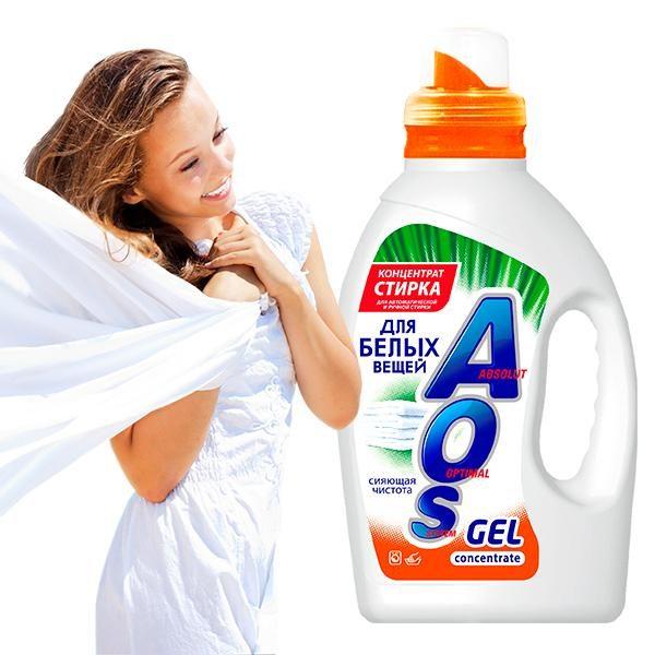 aos beloe girl 600x600 - AOS Gel White «Сияющая чистота»