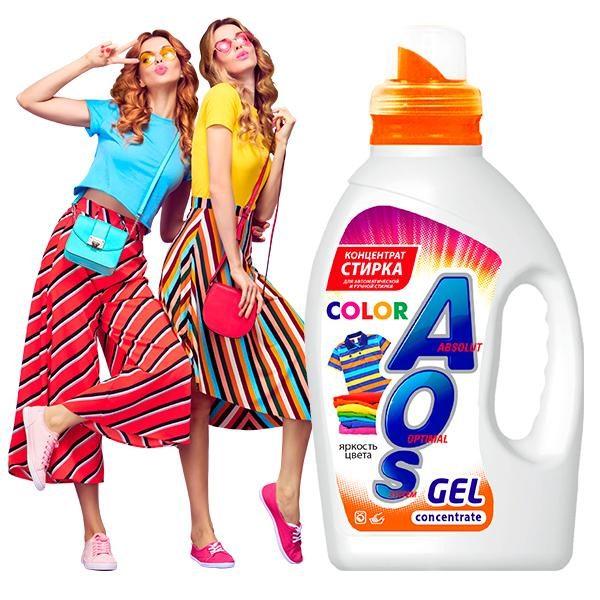 aos color girl 600x600 - AOS Gel Color «Яркость цвета»