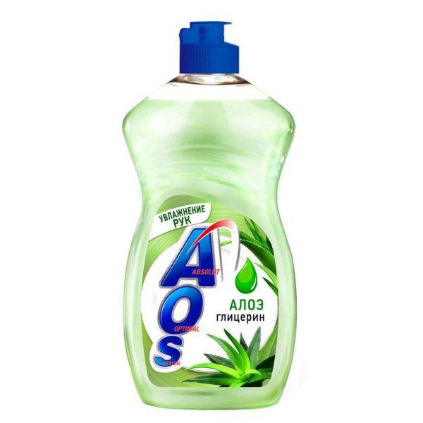 Жидкое моющее средство AOS Глицерин и Алоэ