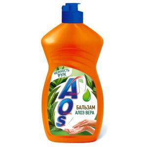 Жидкое моющее средство AOS Бальзам с алоэ вера