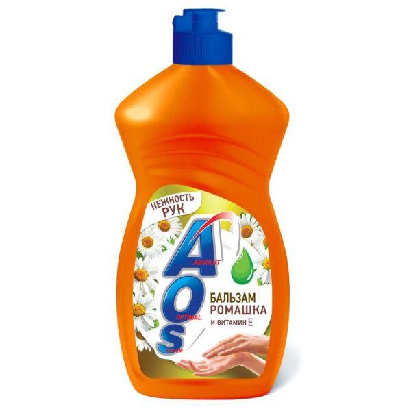 Жидкое моющее средство AOS Бальзам ромашка и витамин Е