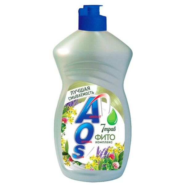 Жидкое моющее средство AOS Фитокомплекс