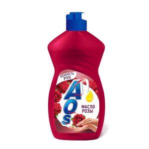 Жидкое моющее средство AOS Масло розы